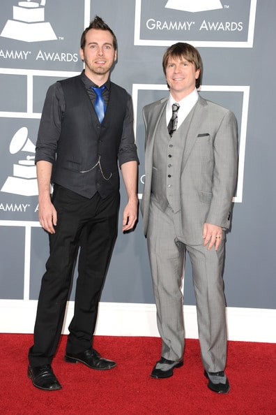 Brent Kolatalo and Ken Anderson at the Grammys