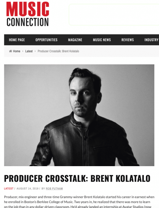 Producer Crosstalk
